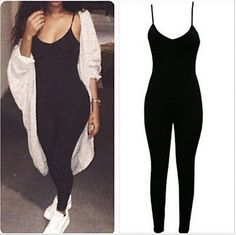Sexy+one+piece+bodycon+jumpsuit now+trending!+get+the+look! this+chic+one+piece+bodycon+jumpsuit+is+so+comfy+yet+stylish+great+for+everyday+or+dress+it+up! Bodycon Dresses, dress, clothe, women's fashion, outfit inspiration, pretty clothes, shoes, bags and accessories