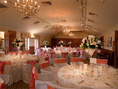 Stunning suites for your wedding breakfast at Pennyhill Park
