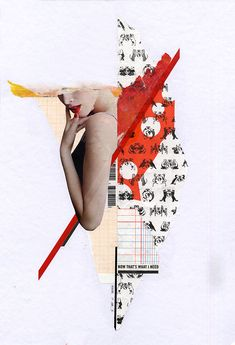 Handmade Collages 2013 by Molokid, via Behance