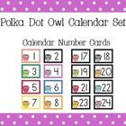 This colorful calendar pack is an awesome addition to any owl or polka dot themed classroom!  This pack contains 44 pages!Included in this pack a...