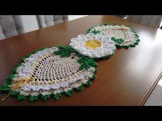PASSO A PASSO TRILHO OURO EM S - Artesã FRAN ALUAP - trilho crochê com flor ouro - YouTube