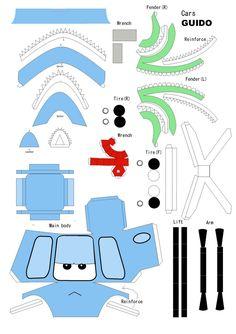 papercraft+cars+guido.jpg (1128×1600)