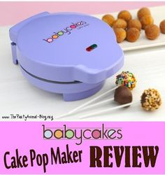 Babycakes Cake Pop Maker Review - Does it really work?