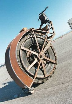 Riot Wheel: Steampunk Motorcycle -  Image: Erik Andersen, courtesy of RIOT Wheel, used with permission by 1800.recycling.com