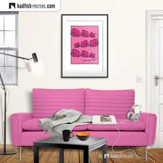 Do It Yourself Furniture, Kids Poster, Pink Kids, Digital Wall, Pink Elephant, Bad Hair Day, Frame It, Cool Posters, Girl Power