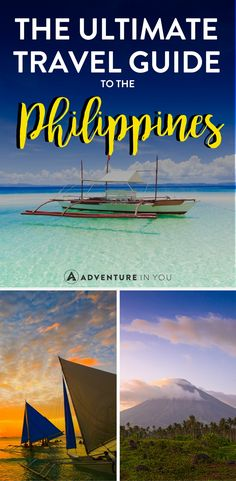 Philippines Travel   Heading to the Philippines and looking for the best travel tips? Check out our ultimate travel guide for the Philippines featuring the best things to do, food to eat, and places to stay. #philippines #travel