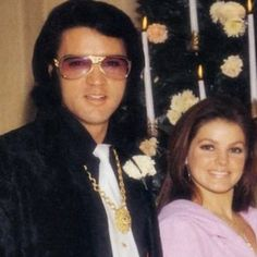 Elvis and Priscilla at Sonny's wedding...