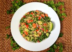 This gluten-free quinoa salad makes for a perfect side or a delicious packed lunch!