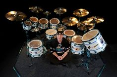 """Steve DeFrank on Twitter: """"Neil Peart and hockey drums. It's a rock and sports…"""