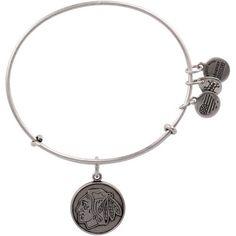 Purchase this Women's #Blackhawks Alex and Ani Silver Primary Logo Bracelet online today! #BlackhawksStore
