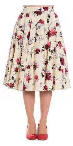 Hell Bunny Cecily 50's Skirt 1
