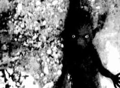 """unexplained-events:  Visiting Carlsbad Caverns in 1966, 7 year old Celia Barton said something was 'grabbing at her' as she followed her parents while strolling down to the cavern's Big Room. Annoyed that she kept activating her Instamatic's flash, her father finally confiscated the camera. Later, this picture was developed. Celia said she thought it wanted to play with her, but it smelled bad, 'like an old banana peel.' """"What you don't know can hurt you. 1860-1998."""""""