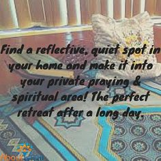Make a spiritual cor