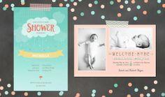 Baby Invitations   Vistaprint