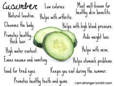 eat more Cucumbers