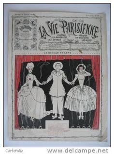 Georges Léonnec (1881 – 1940). La Vie Parisienne, 1910? [Pinned 14-vii-2015]