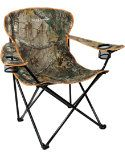 Hide out or hang out. Field & Stream Camo Camp Chair