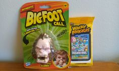 New Video! Weird & Funny Toys - Dollar Tree Bigfoot Call & Wacky Packages Trading Cards Reviews #humor