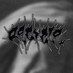 Vintage Graphic Design visual identity for Recycle Vintage Store, Prague Kristyna Kulikova - Vintage Graphic Design, Graphic Design Typography, Retro Design, Graphic Design Inspiration, Typographie Inspiration, Neo Grunge, Black Metal, Metal Font, Type Design