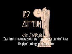 Led Zeppelin - Stairway to Heaven (lyrics) - YouTube