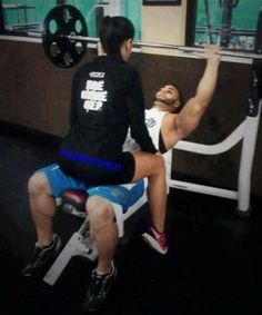 Working out, like a boss! #gym #workout