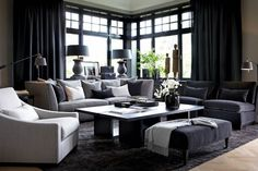 #living_room: Grey in many shades. Slettvoll