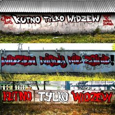 #KutnoTylkoWidzew #RTS #Widzew #Łódź #Kutno #art #graffiti #graf #mural #mur #sciana #kolor #czerwono #biało #czerwony #red #white #red #widzewnigdyniezginie #ultras #ultra #hooligans #streetart #montana #Polska #Poland by mateoss_insta