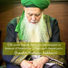 The main reason someone's fast is not accepted by Allah ﷻ is because they gossip and spread mischief, #fitna. Don't be fasadi, #Allah hates that. Pure tongues reflect pure hearts.  #ShaykhHishamKabbani