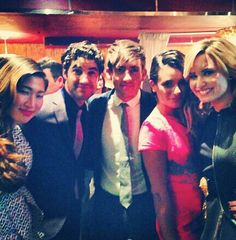 Jenna, Darren, Kevin, Lea, and Demi