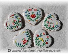 Hungarian Folk Art Keepsake Cookies