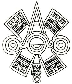 aztec ancient drawing - Google Search