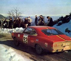 1969 RMC Opel Commodore Neumann-Vogt No92