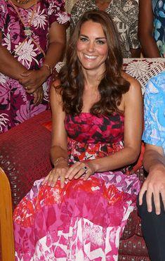 Kate Middleton Photo - The Duke And Duchess Of Cambridge Diamond Jubilee Tour - Day 6