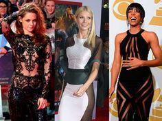 Las estrellas del espectáculo saben que no usar ropa interior es lo de hoy. Desde Beyoncé, Gwyneth P... - Shutterstock/Getty Images