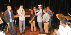 Jam Session en conferencia de prensa del Panamá Jazz Festival | A Son De Salsa