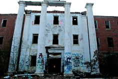 Old Bryce Mental Hospital in Tuscaloosa, Alabama. Opened in 1882 had a cruel life up until the 1960's