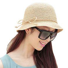 Chic Ladies Womens High Performance Crochet Straw Sun Hat Foldable Summer Bucket Hat Home Prefer http://www.amazon.com/dp/B01E05QKRC/ref=cm_sw_r_pi_dp_ULKfxb1ATTKZB