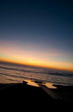 Guitar. Beach. Sunset. (photo - Alexis Stein)