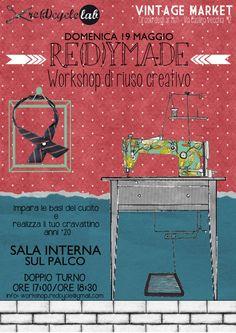 workshop re(d)ymade al Circolo degli Artisti