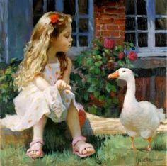 Confluenţe Literare : Cu ochii închişi Painting Of Girl, Figure Painting, Vladimir Volegov, Creation Photo, Animation, Ansel Adams, Belle Photo, Oeuvre D'art, Impressionism