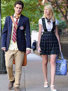Dan and Jenny Humphrey