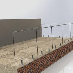 Exterior Railings On Pinterest Glass Railing Railings