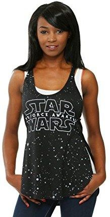 This Star Wars Force Awakens Star Background Juniors Racer Tank is perfect for any Star Wars fan! Rogue One Star Wars, Star Background, Star Wars Costumes, Cheap Online Shopping, Cosplay Diy, Star Wars Tshirt, Tankini, Cool Outfits, Clothes For Women