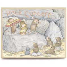 """""""Rock Concert"""" from House-Mouse Designs® (HMPR1051)"""