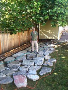 How To Lay Broken Concrete Future Yard Garden Tips