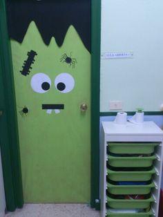 Halloween puerta de mi aula