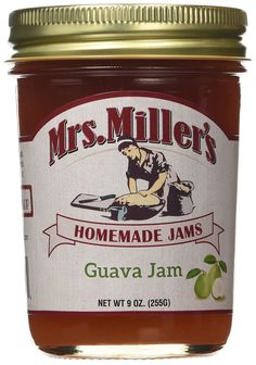 Mrs. Miller's Amish Homemade Guava Jam, 9 oz (3 Jars) * Startling review available here  : Fresh Groceries