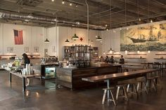 You can find our wood in the beautiful Barista Parlour in Nashville, TN.