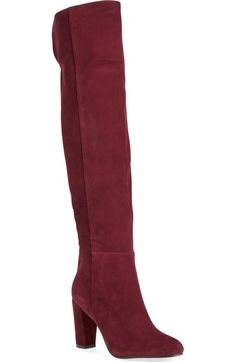 Halogen® 'Noble' Over the Knee Boot (Women) available at #Nordstrom