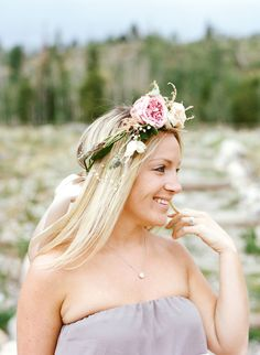 View entire slideshow: Our Favorite Floral Crowns on http://www.stylemepretty.com/collection/2163/